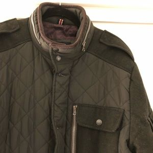 Tommy Hilfiger Green Military Coat